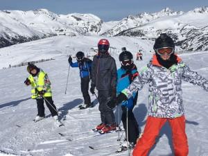Ski Trip El Tarter, Andorra - Feb 2017